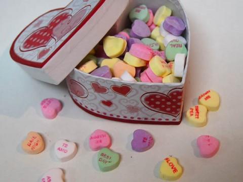 Candy Hearts Heart Box 18,000 LL