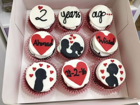 Anniversary cupcakes 5,000 LL each