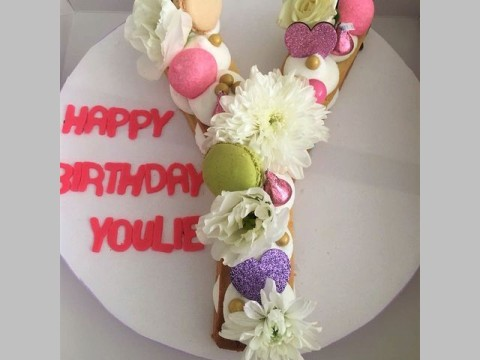 Birthday Letter Sugar Cookie 45,000 LL each