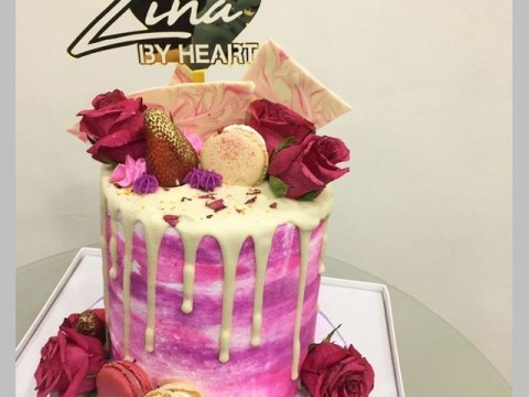 Floral Rose cake