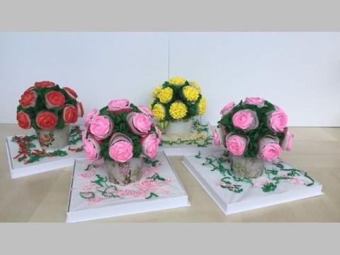 cupcake Pots 80,000 LL each