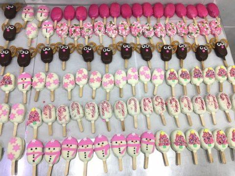 Popsicles 4,000 LL each