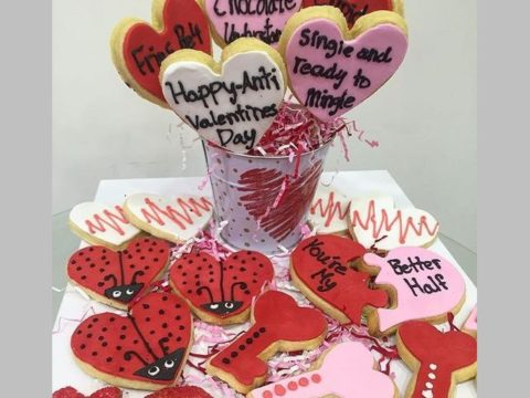 valentine sugar cookie Bucket 45,000 LL