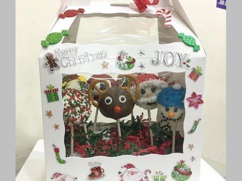 Christmas cake pops box 45,000 ll