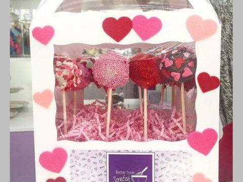 valentine cake pop box 45,000 LL