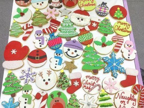 chrsitmas sugar cookies 4,500 LL each