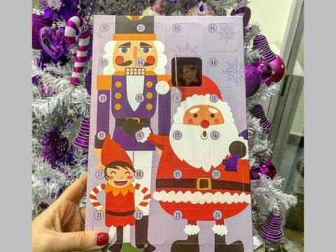 chocolate calendar 20,000 ll