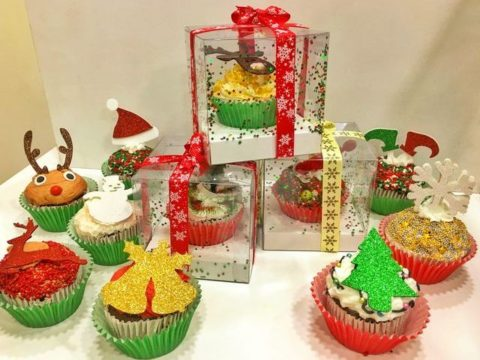 Christmascupcake box 7,000 LL