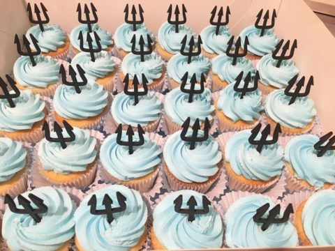 aquaman cupcakes