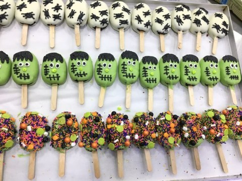 Halloween Popsicles 5,000 LL each