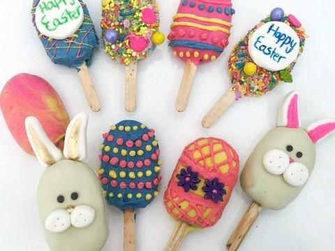Easter popsicles