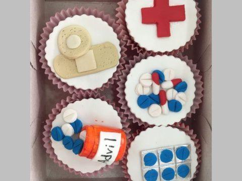 pharmacy cupcake