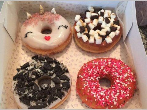 mixed donuts