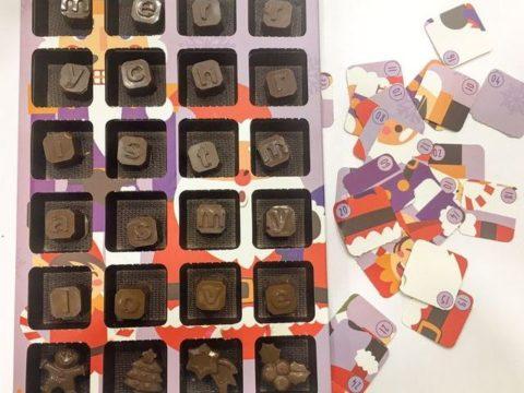 chocolate calendar 20,000 ll each