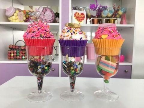 Nyx X AHM cupcakes
