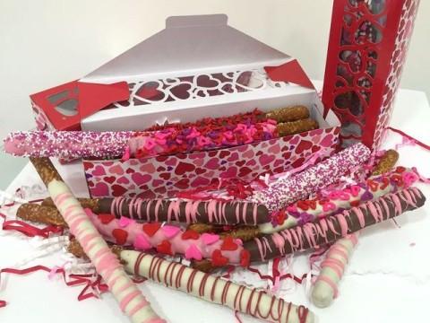 Valentine's Day Pretzels 1,500 LL each