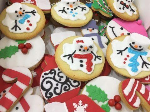 christmas sugar cookies 4,500 LL EACH