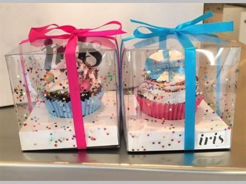 Customized one cupcake box