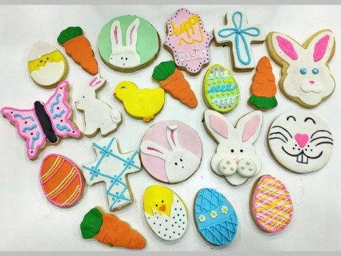 Easter sugar cookie