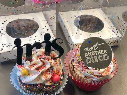 not another disco cupcakes