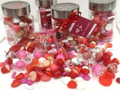 Valentine candy jar 18,000 LL each