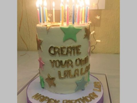 ButterCream with stars cake