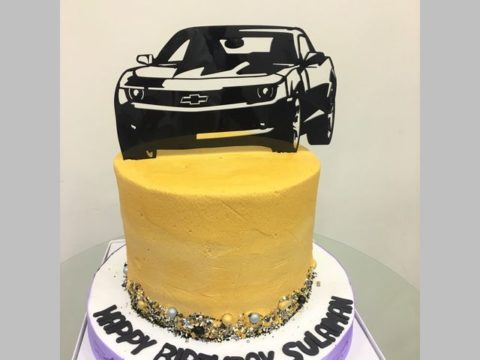 Camaro Cake