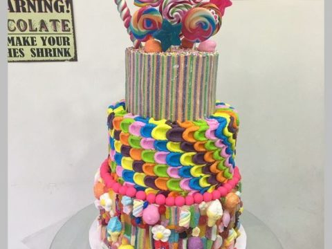 Candy factory Cake