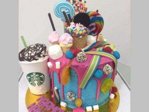 Candyholic Cake