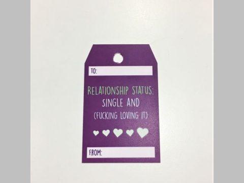 relationship status: single and fucking loving it