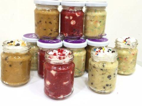 Dessert jars 10,000 LL each