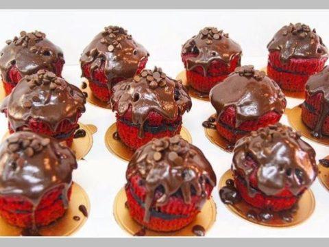 layered cupcakes