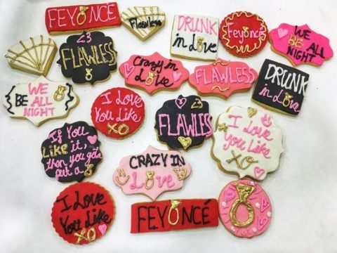 Love Theme Cookies 4,500 LL each