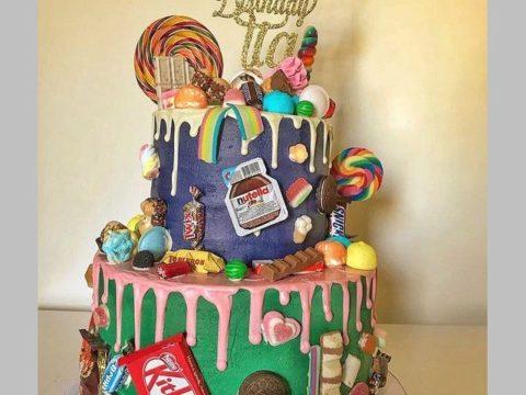 Multi Sweet Cake