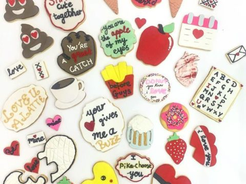 Multi design sugar cookies 4,500 LL each