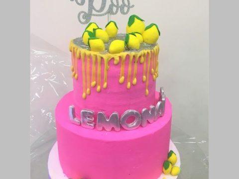 Pink Lemon Cake