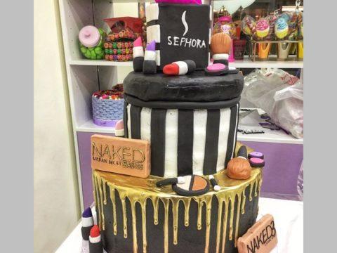 Sephora Theme Cake