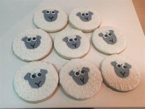 Sheep Cookies 4,500 LL each
