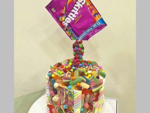 Skittles Explosion