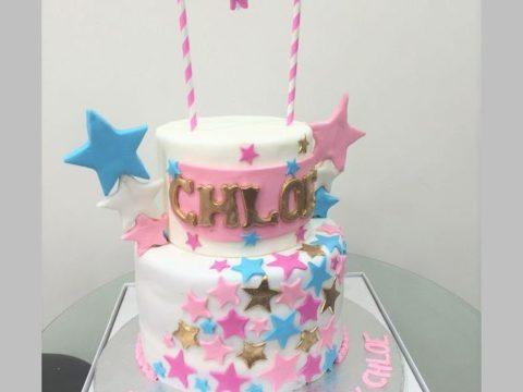 Star Theme cake