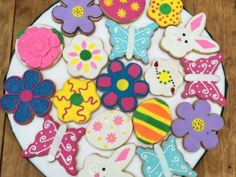 easter & butterfly sugar cookie 4,500 LL each