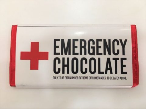 Emergency chocolate