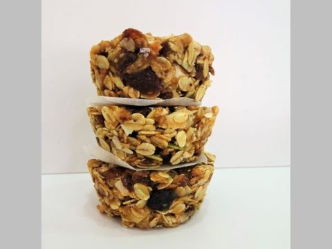 muesli breakfast cups