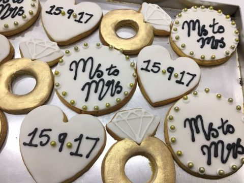 wedding sugar cookies 4,500 LL each