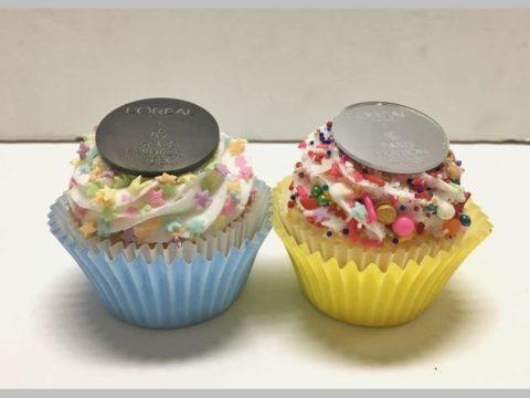 L'Oreal cupcakes