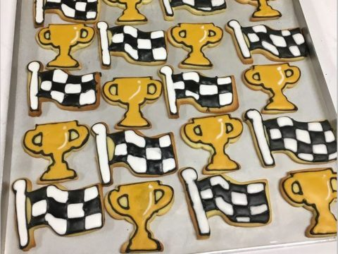 racing sugar cookies