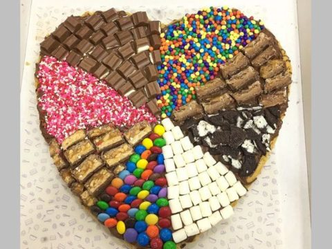 heart giant cookie 70,000 LL