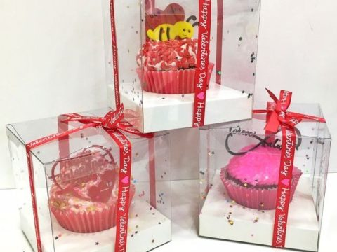 one cupcake box 7,000 each