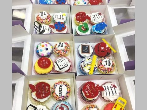 mixed cupcake box
