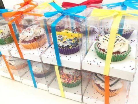 one cupcake box